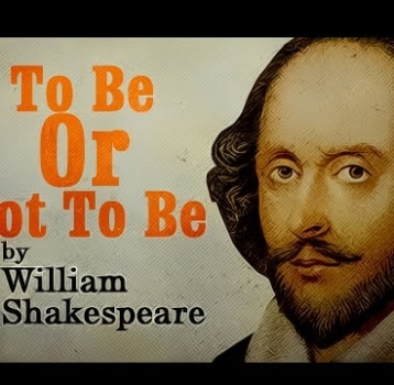 """To Be or Not to Be"" With apologies to William Shakespeare"