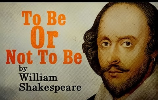 """""""To Be or Not to Be"""" With apologies to William Shakespeare"""